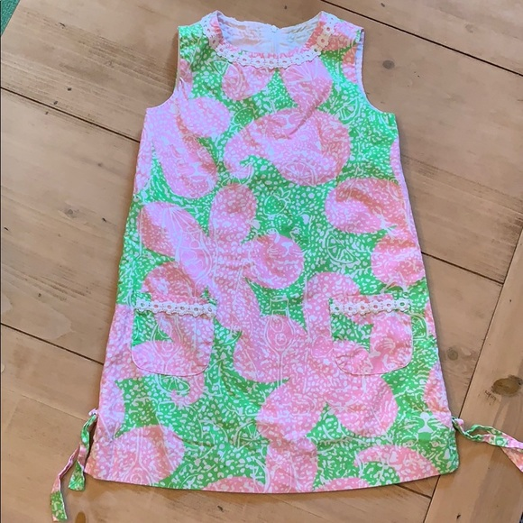 Lilly Pulitzer Other - Girls Lilly Pulitzer shift dress